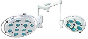 China Double Dome Shadowless Halogen Operating Lights China Suppliers on sale