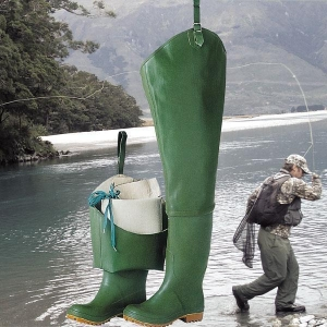 China Waterproof Boot-Foot Chest Waders Fishing Hunting Boot Waders Fishing Boots Rubber on sale
