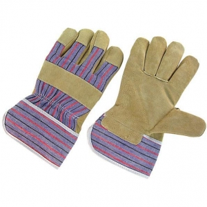 China Pig Leather Working Gloves China Pig Skin Pig Split Leather Gloves on sale