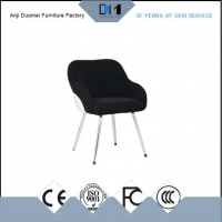 Use Black Fabric Bar Stool