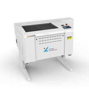 China LZ6040 Series Laser Engraving Machine For Rubber on sale