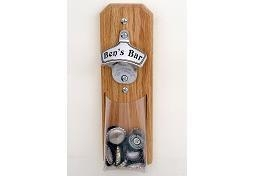 China Wall Mount Bottle Opener With PVC Bag Catcher DY-BO16 on sale