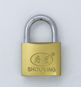 China Brass Painted Iron Padlock Cross Keys on sale