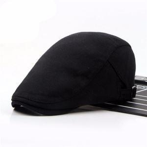 China Casual Men's Women's Duckbill Ivy Cap Golf Driving Flat Cabbie Newsboy Hat 5 Colors on sale