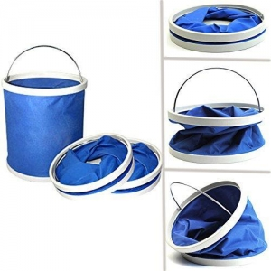 China Outdoor Camping Fishing Folding Collapsible Water Bucket on sale