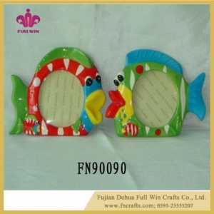 China Unique Design Ceramic Picture Frame Ceramic Wall Frame on sale