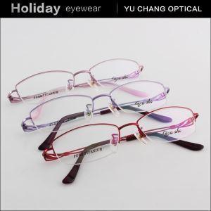 China New Girl Metal OEM Popular Half Rim Eyeglasses on sale