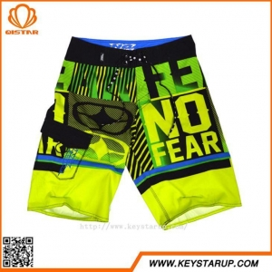 China Mens Over All Sublimtion Printing Yellow Swim Board Shorts China Swimwear Suppliers on sale