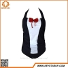 China OEM Serives Fashionable Children Swimwear Girls Bowknot Fancy Swimsuit One Piece for sale