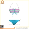 China Pricelist Swimwear Women Sexy Bandage Beachwear Hot Girls Bikini Bra Gather Swimwear for sale