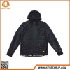 China OEM Custom 100% Polyester Softshell Jacket Windbreaker Waterproof Coat High Quality Black Outerwear for sale