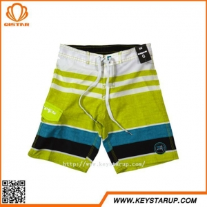 China European Style 4 Ways Stretch Boys Swimming Trunks Best Quality Boardshorts for Teen Boy on sale