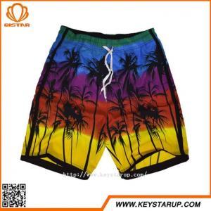 China Trendy Fashional Hawaiian Mens Boardshorts Sublimation Printed Beachwear for Men on sale