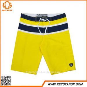 China Professional Quality Taslon Waterproof Swimming Trunks Summer Mens Beach Shorts on sale