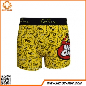 China Most Comfortable Mens Underwear Funny Cartoon Print Men's Underwear Styles Boxer Shorts for Men on sale