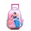 China Disney Princess School Bags Childrens Suitcase Pull Along Cases Girls School Backpacks on Wheels for sale