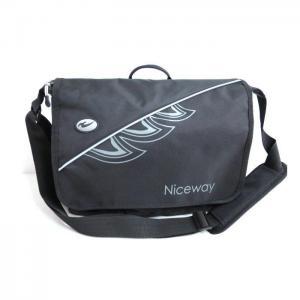 China Canvas Briefcase Waterproof Messenger Bag Men's Large Travel Shoulder Bag Black Messenger Purse on sale