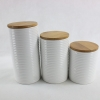 China Hill interiors antique white ceramic canisters for sale