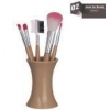 China Wooden&bamboo Soft Make Up Eyebrow Brush for sale