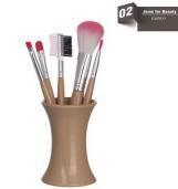 China Wooden&bamboo Soft Make Up Eyebrow Brush on sale