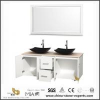 Prefabricate Quartz Bathroom Vanity Tops with Double Sinks