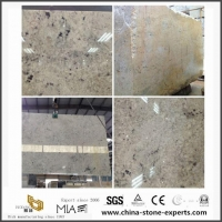 Ivory White Granite Slab For Kitchen Countertop/Vanity Top