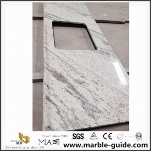 China Popular River White Granite Slab Countertops For American Home Depot With Best Price on sale