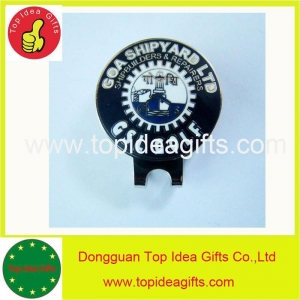 China Custom golf bag tag, divot tool, ball marker, hat clip on sale
