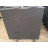 China Imported Natural Stone Indian Absolute Black Granite, Flamed Floor Tiles For Outdoor Granite Paver for sale