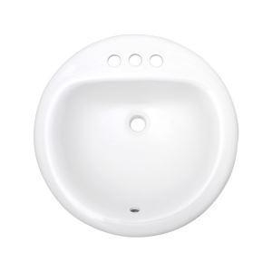 China Small Round Ceramic Drop in Bathroom Cabinets with Vessel Sinks, SS-O1919 on sale