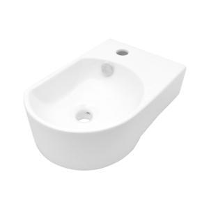China Small Wall Mounted home Depot Bathroom Vessel drop in Sinks and Faucet, SS-VD5014L on sale