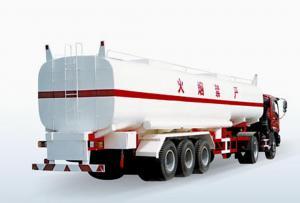 China Tri-axle Fuel Tank Fu on sale