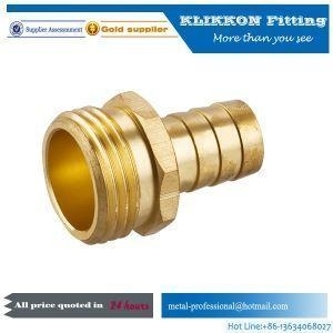 China china Barbed Hose Metric Nickel Chrome Plumbing Water Pipe Brass Copper Bronze Air Tube Fittings on sale