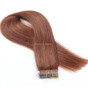 China High Quality Remy Indian Human Hair Straight Tape in Hair Extensions TP11 on sale