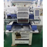 China Compact Single Head Embroidery Machine 500x800mm on sale