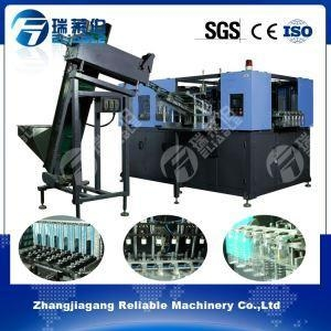 China china Global 1.5 Liter Hand Put PET Preform Six Cavities Fully Automatic Blow Moulding Machine on sale