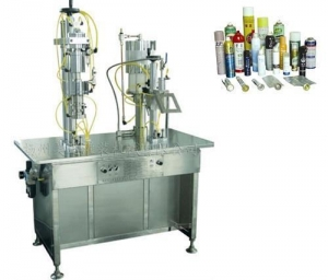 China High Performance Factory Price Semiautomatic Water-base Fire Extinguisher Filling Machine on sale