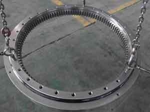 China Flange Slewing Bearing with Internal Gear for Forklift on sale