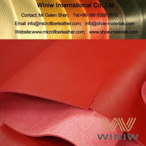 China Best Leather Substitute and Alternatives Vegan Fabrics Material for Shoes on sale