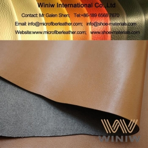 China PU Synthetic Leather Vegan Leather Fabric Leatherette Material on sale