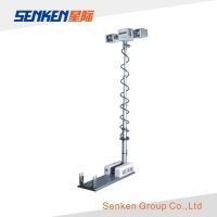 2.5 Meter High Series Vehicle Mounted Folding And Telescopic High Mast Tower Lights CFF1252400