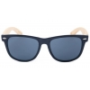 China Bamboo sunglasses new Plastic frame bambu temple sunglasses UV400 CE for sale