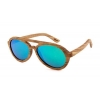 China Mirrored Wooden Sunglasses with TAC Polarized lensFashion Oversize for sale