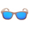 China Wooden Gafas Wood Grain Sunglasses with Your Logo Best style Bulk for sale