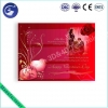 China Customized Design 3D PP Lenticular Greeting Card For Valentine's Day for sale