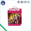 China Customized Design Non-toxic 3D PP Lenticular Wine Liquor Gift Packing Wrapping Bag for sale
