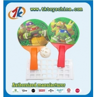 Funny Sport Toy Plastic Mini Play Ping Pong Toy Table Tennis Set For Children With Net