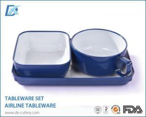 China Premium Plastic Tableware Tea Cup and Plate Set on sale