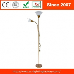 China Hot Popular Swing Arm Metal Mother Daughter Floor Lamp Light For Indoor on sale