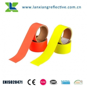 China Custom High Quality 100% Cotton Silver Flame Retardant Reflective Fabric Tape on sale